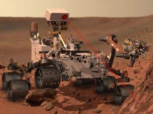 Exomars Roboter sucht nach dem Leben auf dem roten Planeten
