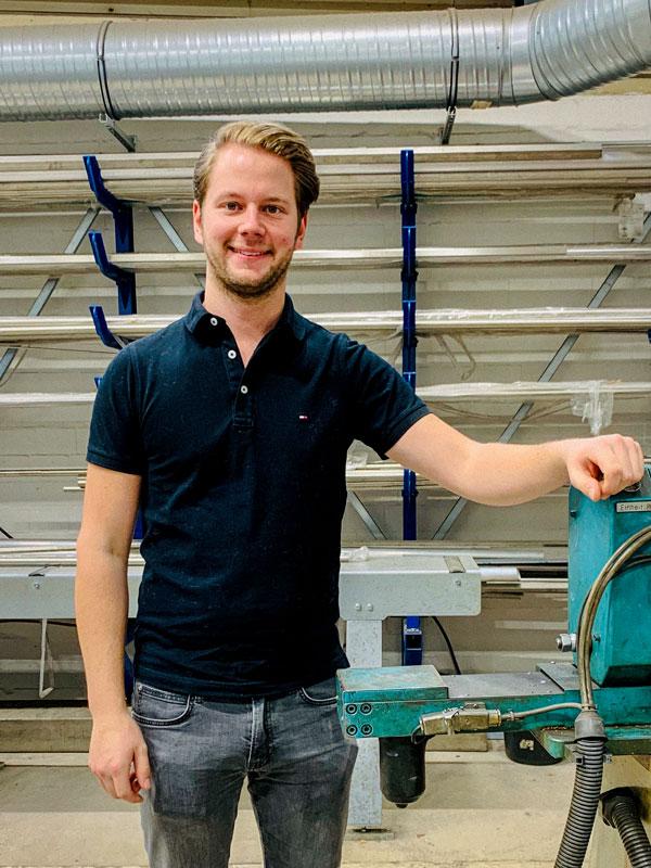 Marcel Fehse Fallstudie Metallbau Stehr Dtehteile