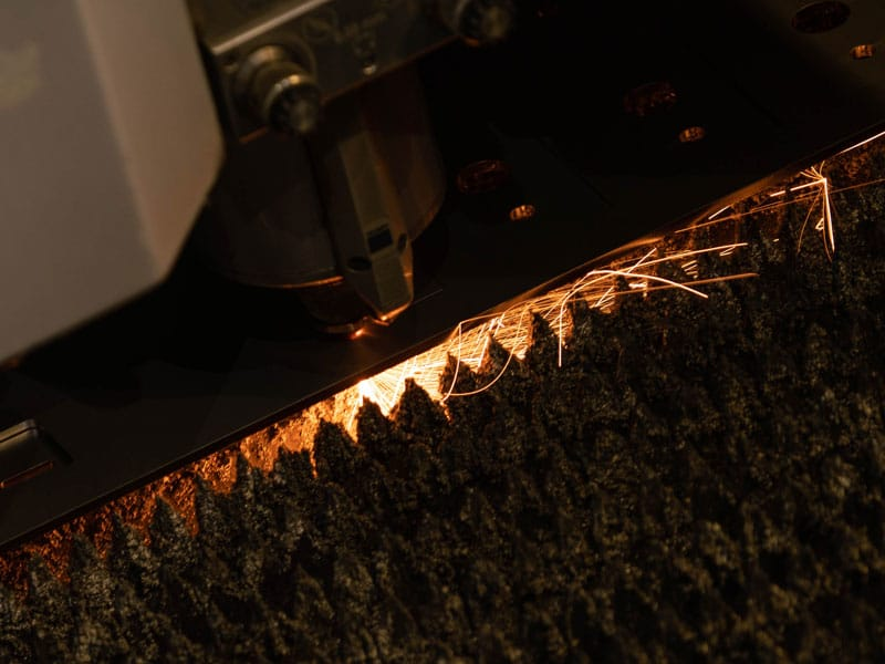 Metallbearbeitung mit laser