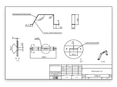 Erstellung von PDF-Zeichnungen