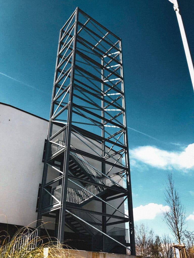 Jedes Einzelteil der Konstruktionen der Schlosserei Schumacher ist als CAD-Datei digital hinterlegt.