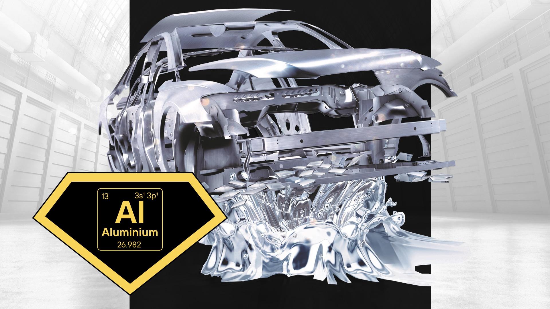 Aluminium als innovatives Leichtmetall für die Autobranche der Zukunft