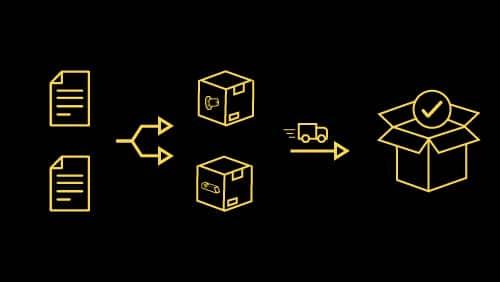 Wieso das Aufteilen von komplexen Bestellungen Sinn macht
