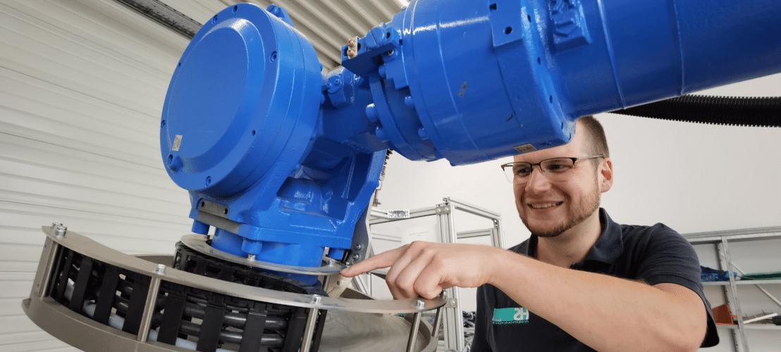 HS Automatisierungstechnik baut Sondermaschinen.