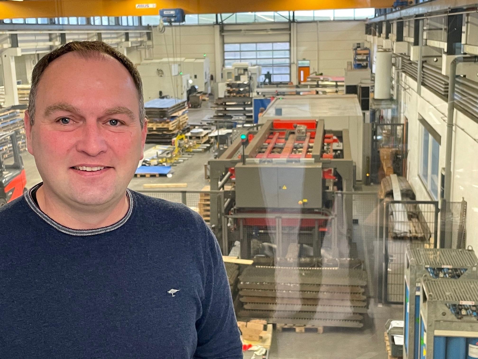 Robin Göbel Metalltechnik Göbel Porträt